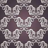 Seamless Ornate Pattern (Vector) — Wektor stockowy