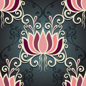 Seamless Floral Pattern (Vector) — Vector de stock