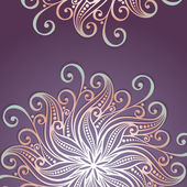 Vector Colored Ornate Background — Stockvector
