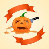 Abóbora de halloween — Vetorial Stock