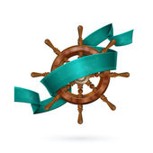 Ship's Wheel — Vetorial Stock