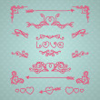 Vintage Love — Stock Vector