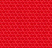 Red Pattern Hexagon Mosaic — Vector de stock