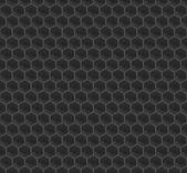 мозаика шестигранная черный шаблон — Cтоковый вектор