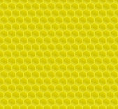 Yellow Pattern Hexagon Mosaic — Vector de stock