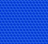 синий шаблон шестиугольника мозаика — Cтоковый вектор