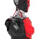 Female robot — Stock Photo