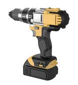 Cordless hand drill — Stock Photo