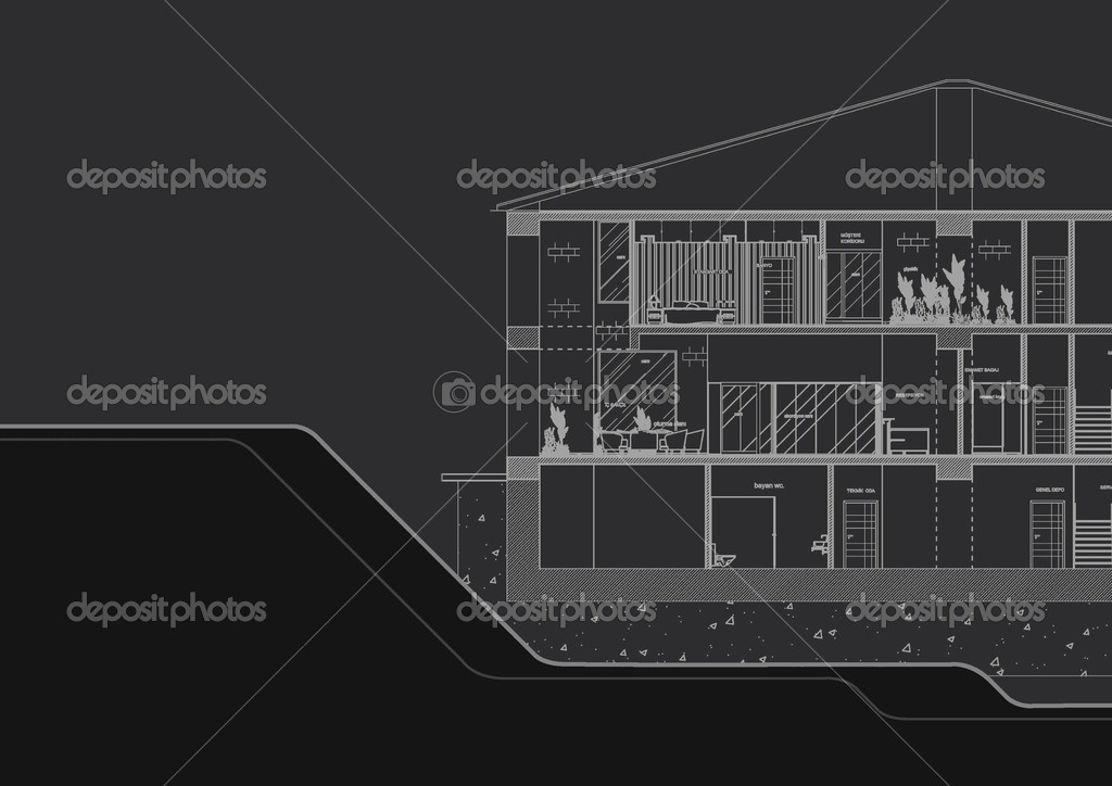 Architecture graphique de la couverture photo 32925551 for Architecture graphique