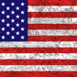 United states of america flag — 图库照片