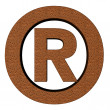 Registered trade mark — Stock Photo