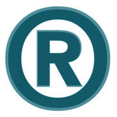 Registered trade mark — Stock Photo