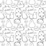 Cats texture — Stock Vector #33205999