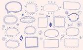 Hand drawn frames — 图库矢量图片