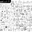 Travel Set — Stock Vector