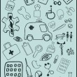 Medical Objects — Imagen vectorial