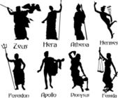 Ancient Gods — Stock Vector
