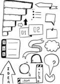 Creative Elements — Stock Vector