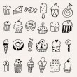 Sweets set — Stock Vector #51178263