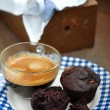 Chocolate muffins — Stockfoto #32876141