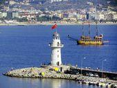 Alanya's lighthouse — Stock Photo
