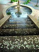 Gold colour Fountain — Stock Photo
