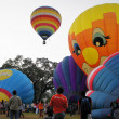 Thailand international balloon festival 2011 — Stock Photo
