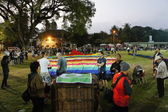 Thailand international balloon festival 2011 — Stock Photo