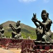 The Tian Tan Buddha, Hong Kong — Stock Photo