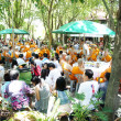 Stock Photo: Thai Buddhist ordination ceremony