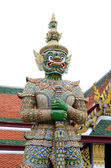 Demon Guardian at Wat Phra Kaew, The Grand palace, Bangkok — Stock Photo