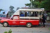 Podróż w phu kradueng, loei, tajlandia — Zdjęcie stockowe
