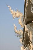 Wat rong khun, chaingrai, Tayland — Stok fotoğraf
