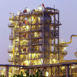 Tower of oil refinery — Stock Photo #39299269
