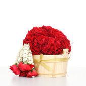 Roses wreath. Garland of Roses Wreath. — Stock Photo
