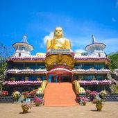 Temple in Dambulla Sri Lanka — Stock Photo