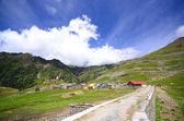 The great Himalayan mountain range — Foto de Stock