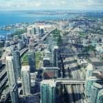Panorama of Singapore — Stock Photo