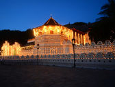 Famous Buddhist Temple of the Tooth Relic — Stock Photo