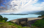 Victoria reservoir — Stock Photo