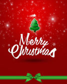Beautiful christmas card. — Stockfoto