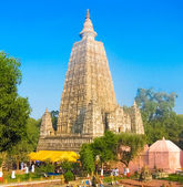 Mahabodhi temple — Stock Photo