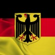The flag of Germany — Stock Photo