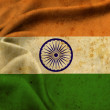 The flag of India — Stock Photo