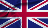 The flag of Great Britain — Stock Photo