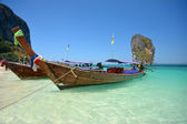 Barcos de madera — Foto de Stock