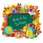 School supplies. Education concept. — Stock vektor