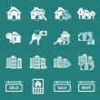 Real Estate icons. — Stock Vector #46398505
