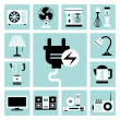 Household appliances icons — Stock Vector #48137187