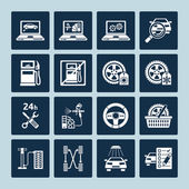 Auto repair icons  — Stok Vektör